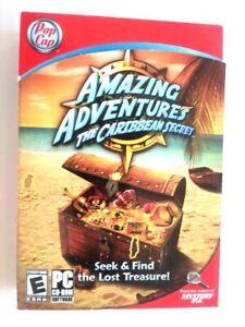 amazing adventures the caribbean secret pc 2010 a 2 899274001949 ebay