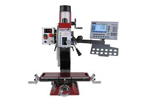 PAULIMOT-Bohr-Fraesmaschine-F205-V-mit-frequenzgesteuertem-Motor-und-Messsystem