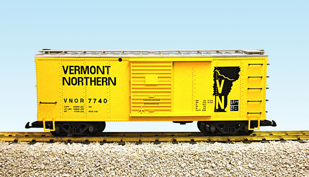 USA i treni G Scale R19112B Vermont Northern  7740 – gituttioargento nuovo RELEASE