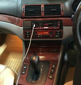 RHD LHD BMW E46 CONVERTIBLE M3 330CI FIT 1999-2006 DASH TRIM KIT CAR TUNING WOOD
