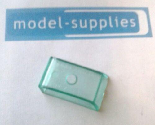 Matchbox reproduction 7B ford anglia green tinted plastique fenêtre unité