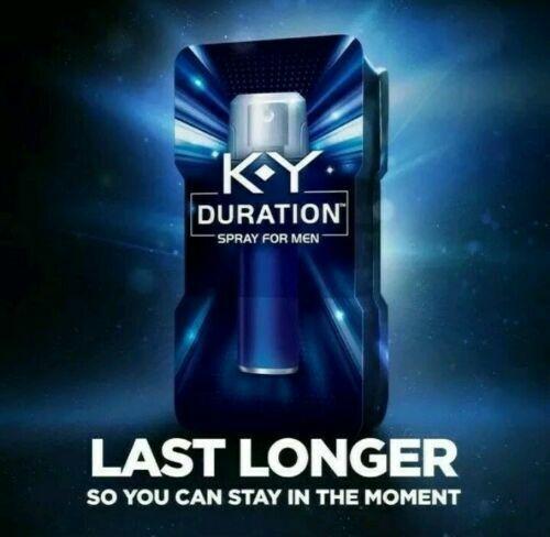 K-Y Duration Spray for Men - Last Longer 100 sprays .36oz (Exp 10/18) NEW/SEALED