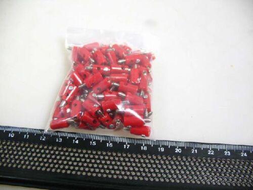 100 Modellbahn-Stecker rot für H0,N Modelleisenbahn