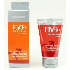 Doc Johnson Power + Delay Cream for Men Male Genital Desensitizer Desensitizing
