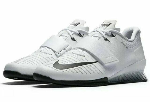 Nike Romaleos 3 Men White Weighlifting