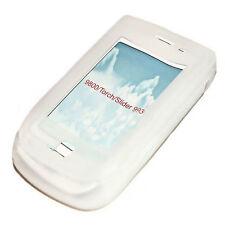 Silikon TPU Cover Case Handy Hülle  für BlackBerry 9800 Torch in Weiß