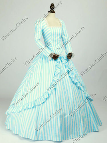 Victorian Dresses | Victorian Ballgowns | Victorian Clothing 1860 Victorian Fancy Dress Princess Fantasy Ball Gown Theater Halloween Costume N 321 $146.00 AT vintagedancer.com