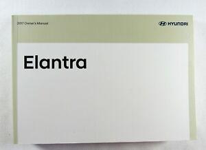 2017 Hyundai Elantra Owners Manual Book | eBay