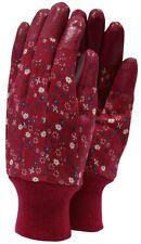 Town & Country Aquasure Cotton Ladies Gardening Gloves - Fuchsia - Medium