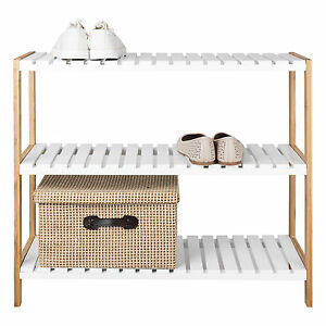 3-Tier-Bamboo-amp-MDF-Shoe-Rack-Organiser-Natural-Bamboo-Shoes-Storage-Shelf-Stand