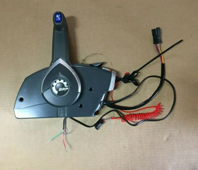Marine Outboard Side Mount Remote Control 5006180 Fits BRP Johnson Evinrude