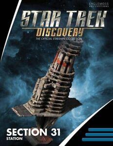 Eaglemoss-Star-Trek-Discovery-Section-31-Headquarters-Station-Ship-Replica-New