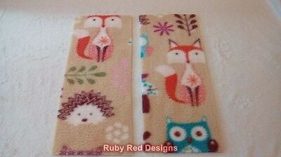 Fashion Style Ruby Red Designs Rectangle Fleece Liners Neutral