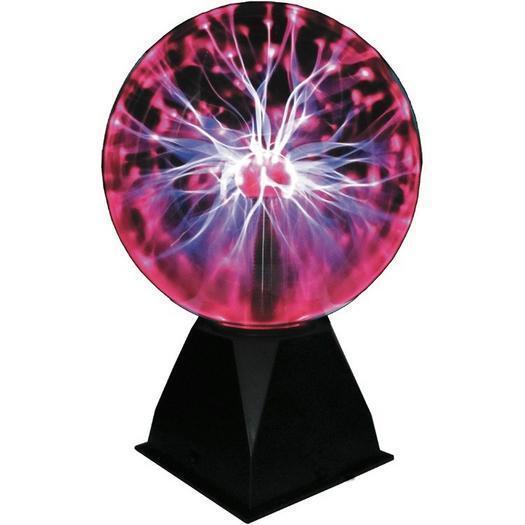 Interactive Red or bluee Tesla Plasma Ball - GorillaSpoke, Free P&P IRE&UK