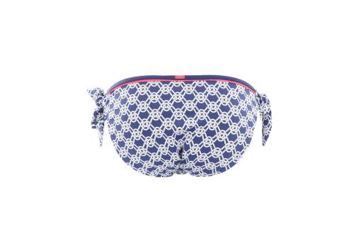 Panache CW0277 Cleo Lucille Tie Side Bikini Pant in Blue Sailors Knot