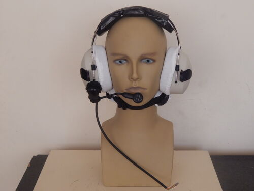 Racal Atlantic Aircraft High Noise Headset With Microphone, Part No RA155/2000