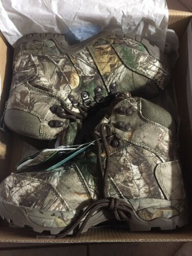 New Game Winner Youth REALTREE All Camo Hiker III Waterproof Hunting boot 6