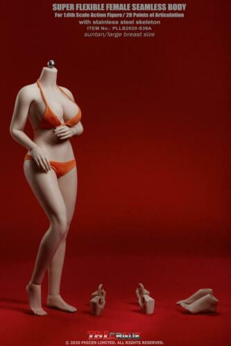 TBLeague 1//6 PLLB2020-S38 S39 Large Breast 12inch Seamless Female Figure Body