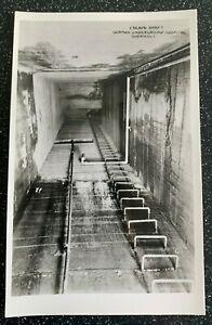 Vintage RP Postcard - German Underground Hospital Escape Shaft - Guernsey