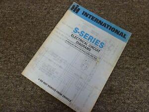 1985 International 1853 1854 1954 Truck Electrical Wiring