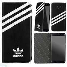 adidas Book Cover Case Samsung Galaxy S7 edge G935 Tasche Schutz Handy Hülle