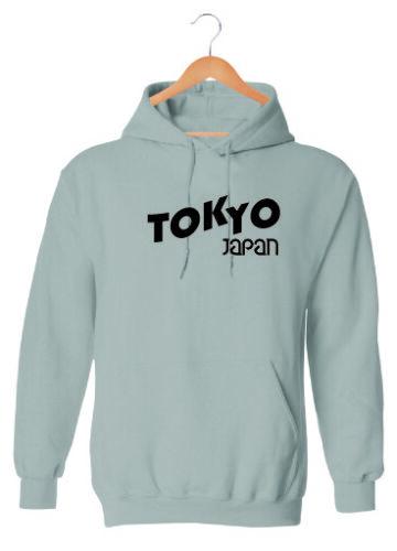 TOKYO JAPAN HOODIE SWEATSHIRT MENS WOMENS FASHION SLOGAN HIPSTER TREND HOODY