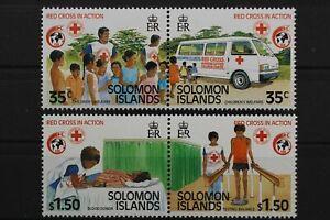 Salomoninseln, MiNr. 700-703, 2 Paare, postfrisch / MNH - 646085