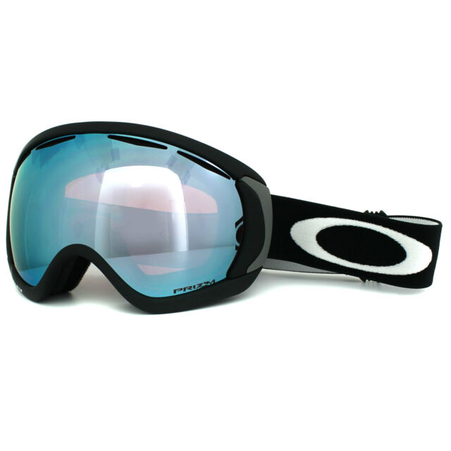 c6d9bd784b6 Oakley Ski Snow Goggles Canopy OO7047-45 Matt Black Prizm Sapphire Iridium