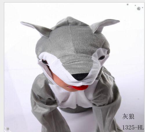 Halloween Child Animal Fancy Kigurumi Cosplay Dress Costume Cow Tigger and so on