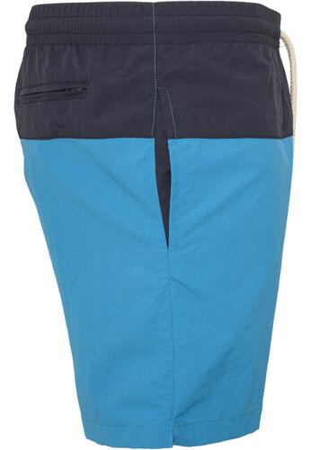 5XL Urban Classics Block Swim Shorts Swimming Trunks Leisure Trousers XS