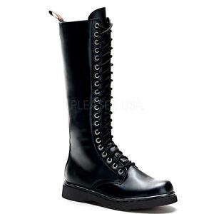 13853d213 DEMONIA Goth Military Punk Combat 1