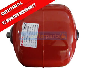 VAREM-ITALY-RED-CENTRAL-HEATING-EXPANSION-VESSEL-12-LITRE-BRAND-NEW