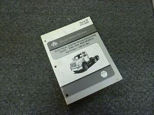 2000 International 4700 4800 4900 8100 Truck Electrical ...