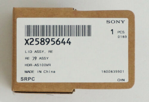 X25895644 Original Sony Teile X25895641 Batterie Tür Deckel Assy HDR-AS200V