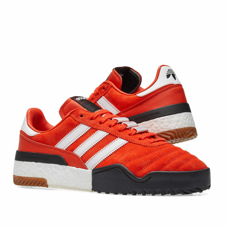 Adidas Originals ALEXANDER WANG football orange, noir et blanc
