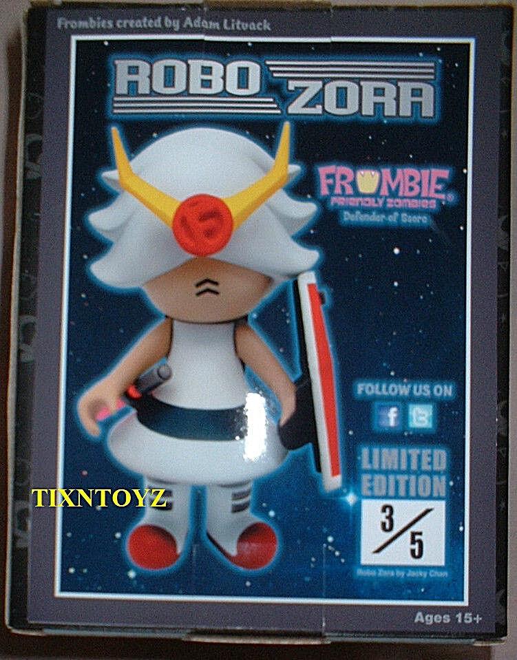 FROMBIE Friendly Zombies COLLECTION _ Robo Zora 6  Figurine En Vinyle _ Exclusive Nº 3 de 5