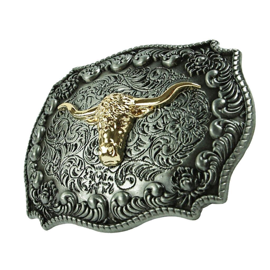 1 Stück Gürtelschnalle Vintage Western Cowboy Schnalle