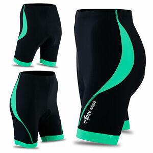 Women cycling padded shorts ladies legging cycling padded tights ITALIAN FABRIC