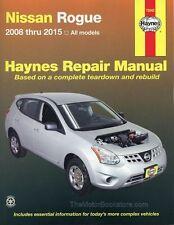 Nissan Rogue Repair Manual (2008-2015) by Haynes #72042