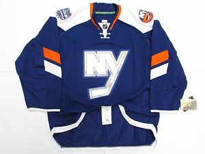 45dcb6b6f50 NEW YORK ISLANDERS AUTHENTIC 2014 NHL STADIUM SERIES REEBOK EDGE 2.0 ...