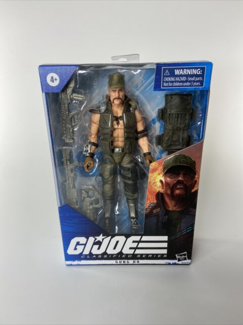 "GUNG HO #07 G.I. Joe Classified Series 6"" Action Figure 2020 Hasbro Toy New"