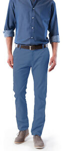 Stooker-Malte-Herren-Chino-Hose-For-Friends-Collection-Faded-Blue-amp-Cognac