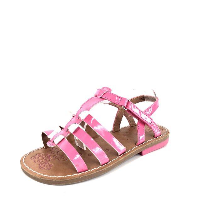 fced4207649 Nordstrom Rack Pink White Flower Sandals Size 12 M