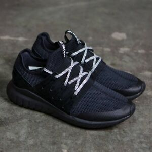 buy popular afc4f 822d9 Image is loading ADIDAS-TUBULAR-RADIAL-S76719-CORE-BALCK-VINTAGE-WHITE-