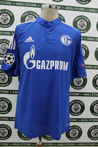 Maglia-calcio-SCHALKE-HUNTELAAR-TG-L-15-16-shirt-trikot-camiseta-maillot-jersey