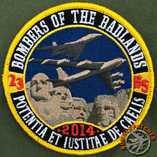 "23d Bomb Squadron Ellsworth AFB ""Deployment"" Patch 2014, B-52H B-1B Bombers USAF"