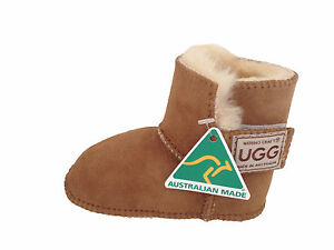 Image is loading Australian-Made-Genuine-sheepskin-Baby-UGG-Boots-Colour-