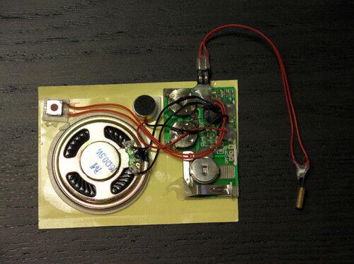 10s SHOCK SENSOR RECORD device voice module music box sound plays automatically