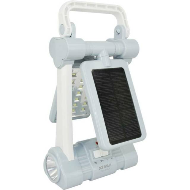 New Lantern Rechargeable Solar Battery AC Powered For Camping or Emergency!