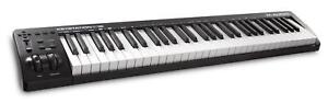 M-Audio-Keystation-61-MK3-Masterkeyboard-Controller-Software-USB-MIDI-61-Tasten